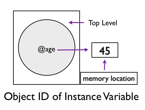Object ID of Instance Variable